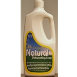 Natural dishwashing Soap Lemon Scented 32oz. (946ml)