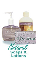Natural Soaps and Lotions